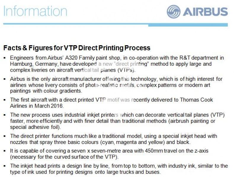 VTP Direct Printing Process