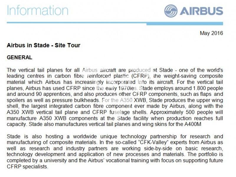 Airbus in Stade - Site Tour