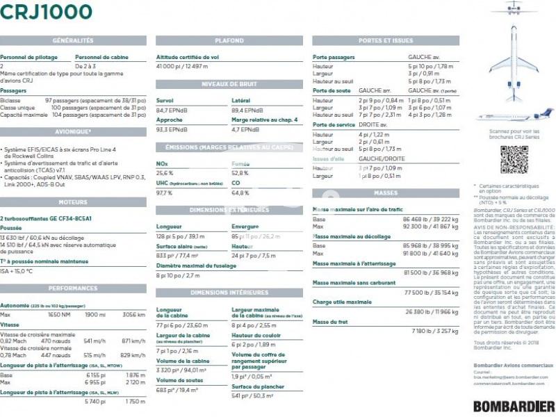 CRJ1000 Factsheet