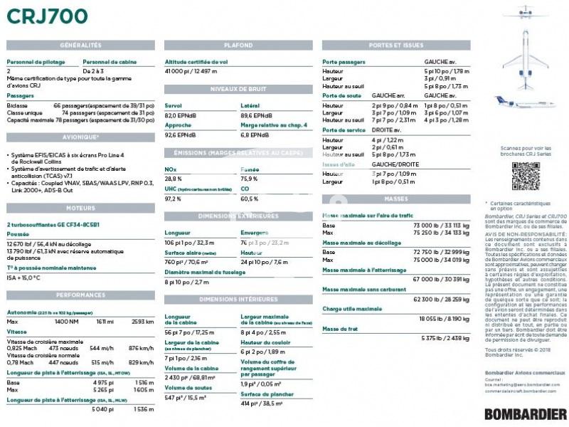 CRJ700 Factsheet