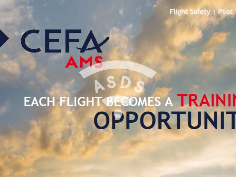 CEFA AMS - Each flight becomes a training opportunity