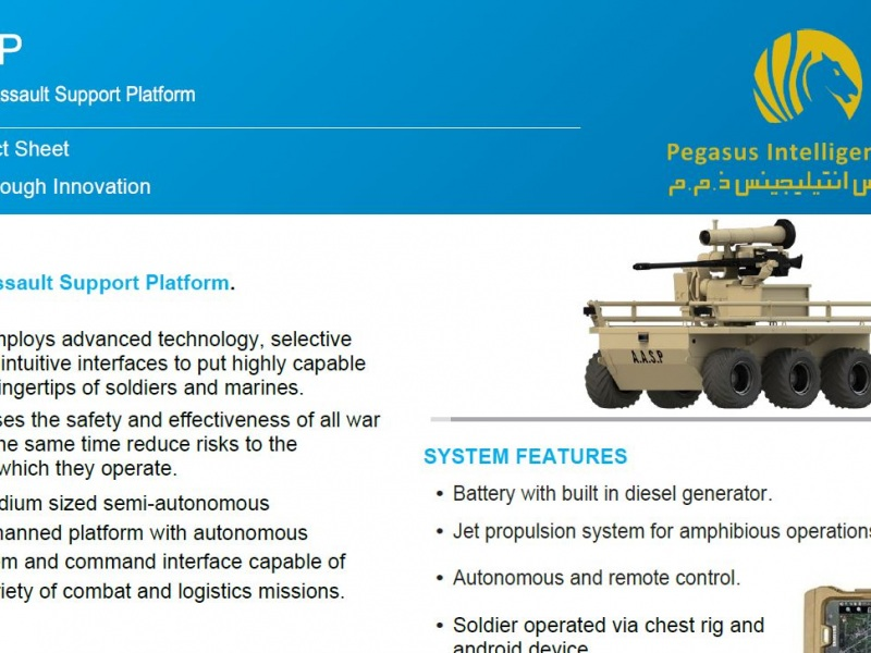 Pegasus Intelligence AASP