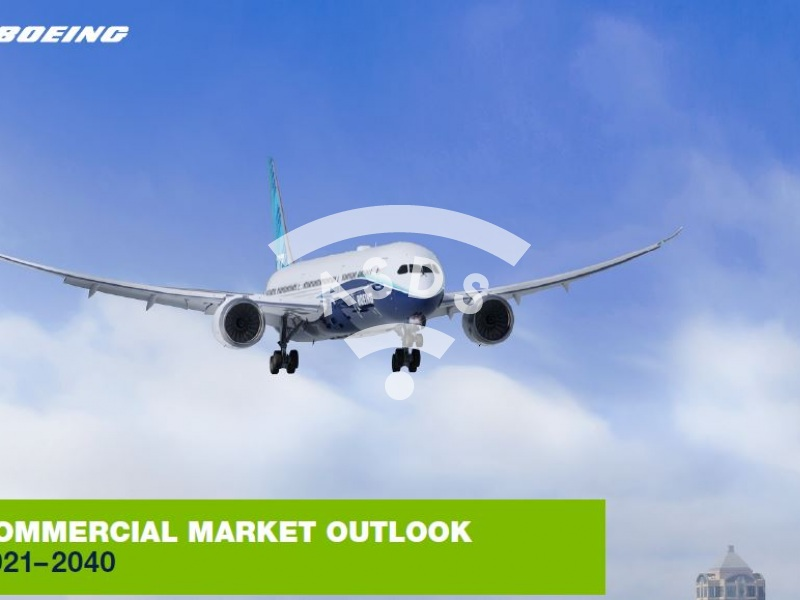 Boeing Commercial Market Outlook 2021-2040
