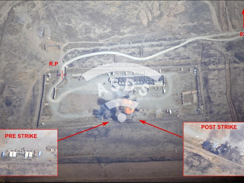 French Air Force Rafale air strike in Iraq