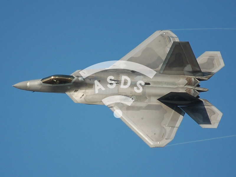 F-22 made its first air strike mission in Syria