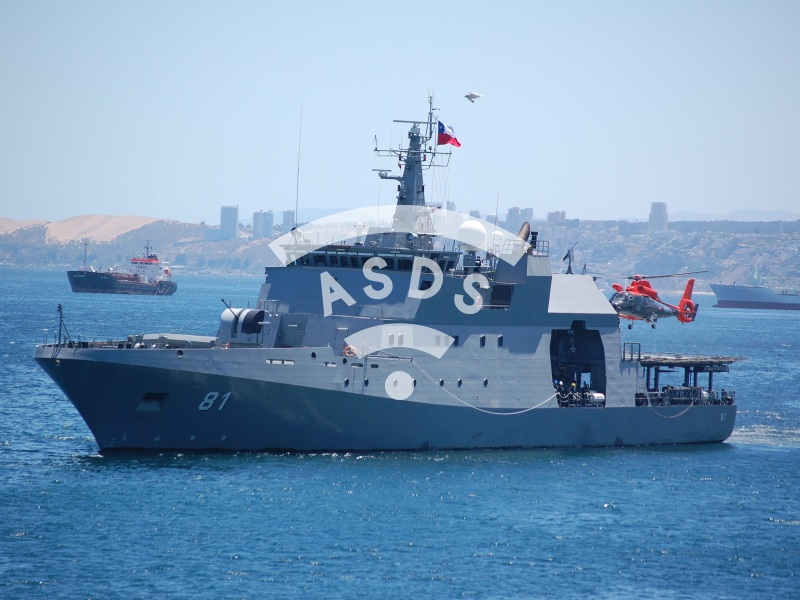 OPV Piloto Pardo of the Chilean Navy