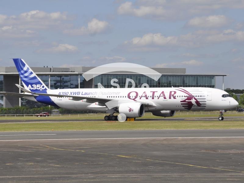 Airbus A350 at Farnborough 2014