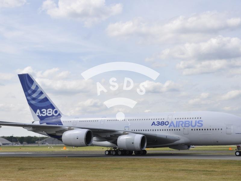 A380 at Farnborough 2014