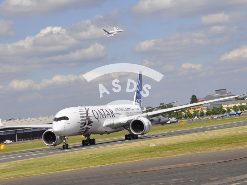 A350 and A380 at Farnborough 2014