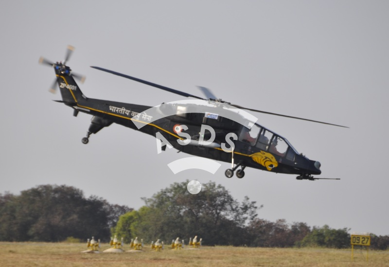 Indian LCH attack helicopter