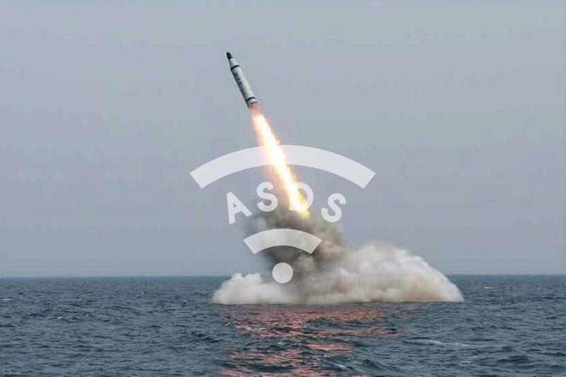 North Korea launches ballistic missile submarine