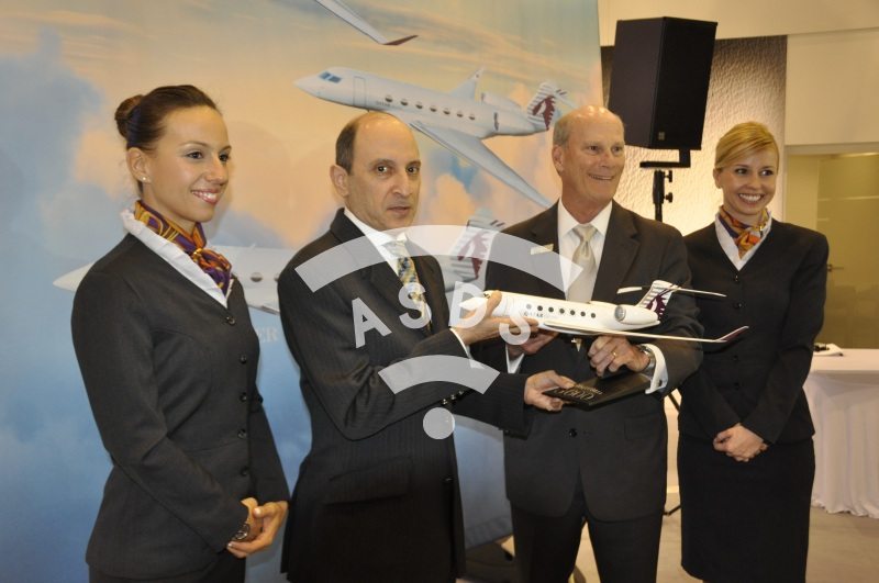 G500 first contract with Qatar Airways