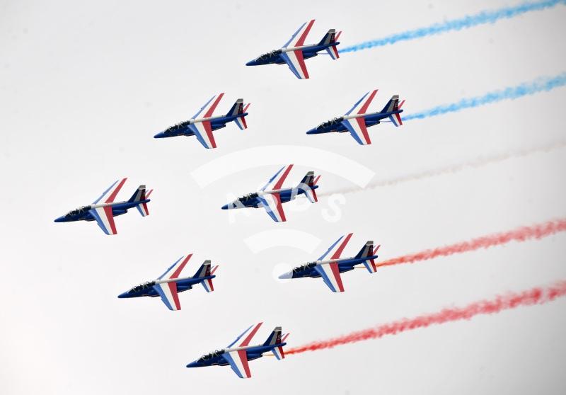 Patrouille de France at Paris Airshow 2015