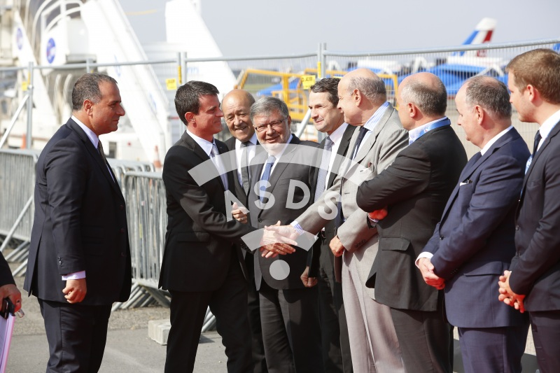 M. Valls Prime minister and M. Lahoud