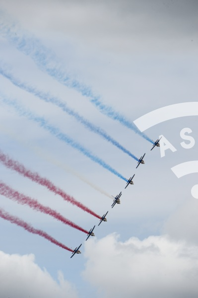 Patrouille de France at Paris Airshow 2015