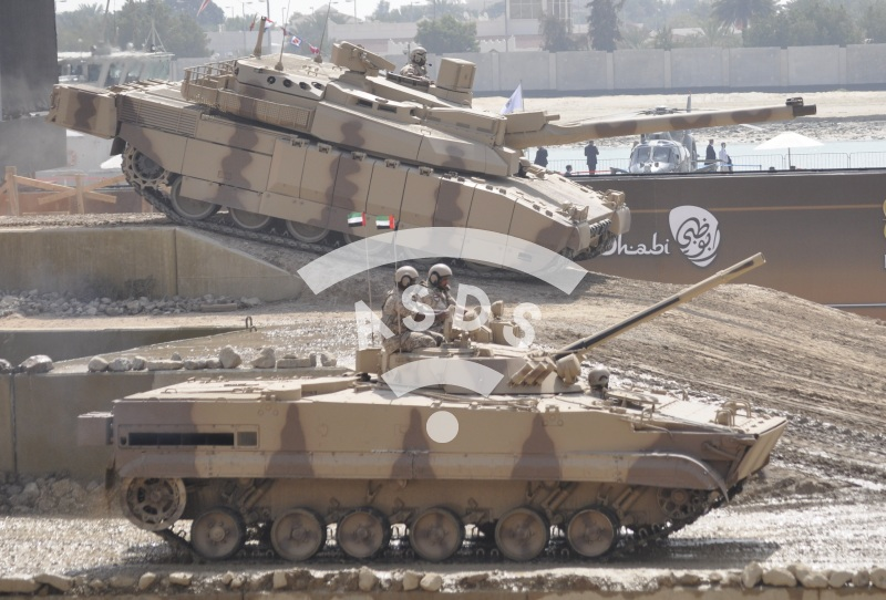 Leclerc MBT and BMP-3 IFV of the UAE Army