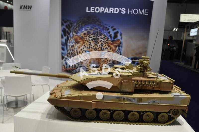 KMW Leopard's home