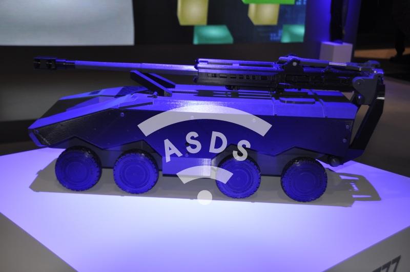 Future self-propelled M777