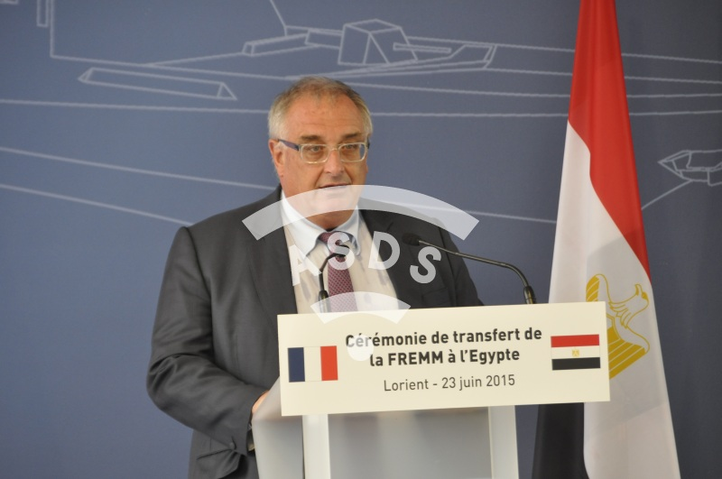 Hervé Guillou, CEO of DCNS