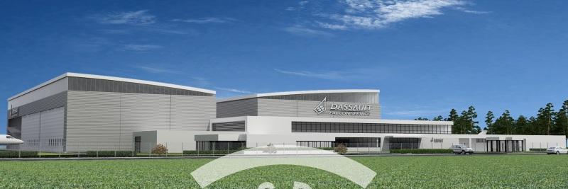 Dassault Falcon new facility