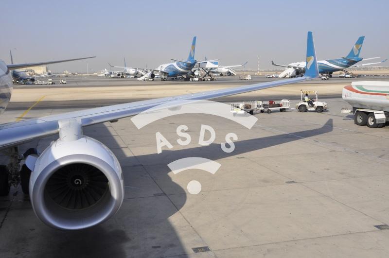 Oman Air at Mascate International Airport