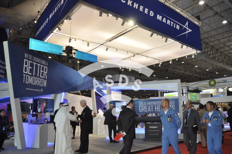 Lockheed Martin at Dubai Airshow 2015