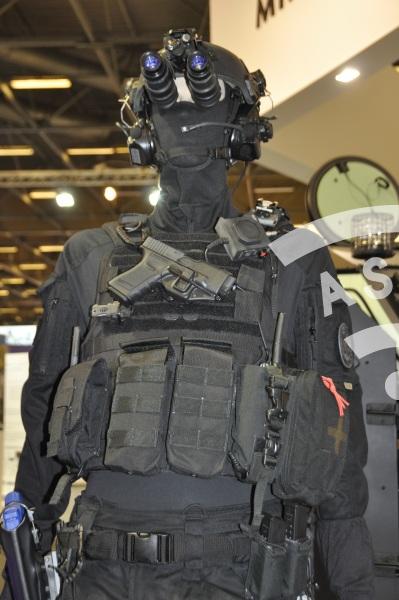 RAID French Police at MILIPOL 2015