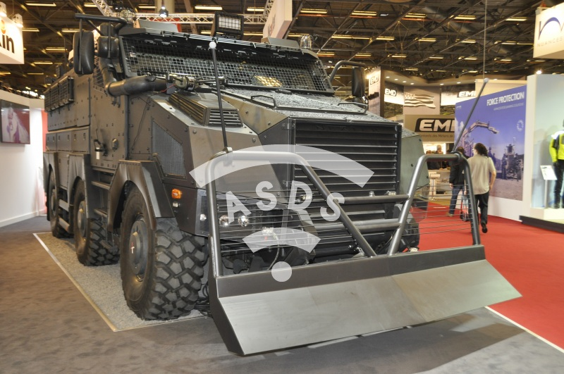 Titus at MILIPOL 2015