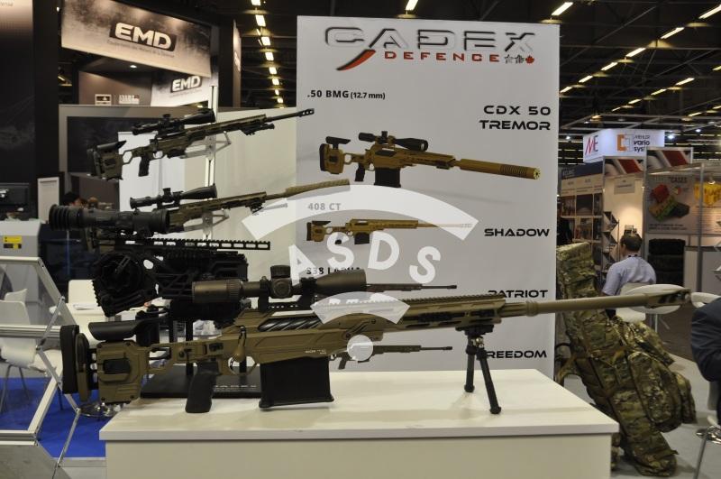 Sniper rifle CADEX CDX