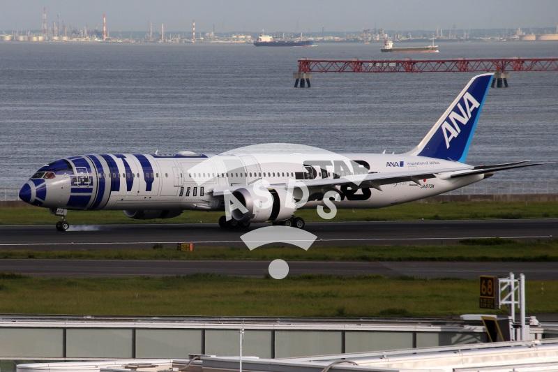 Star Wars Boeing 777 of ANA