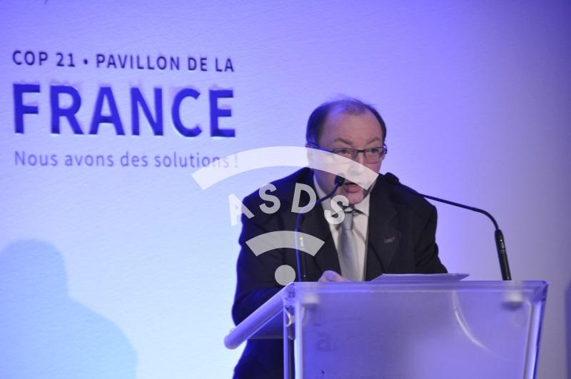 Bruno Sainjon at the COP21