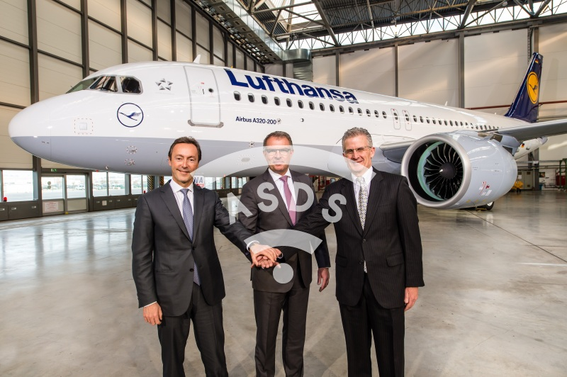 1st A320neo delivery