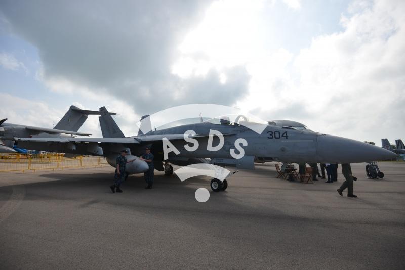 F-18E of the U.S. Navy