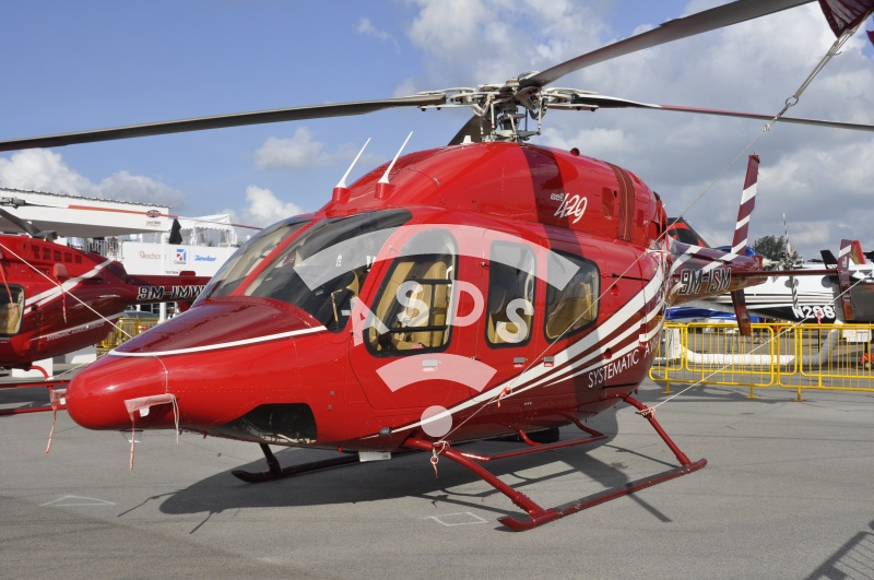 Bell 425 helicopter