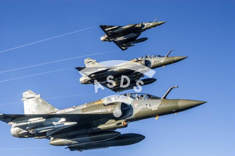 Mirage 2000 D in flight