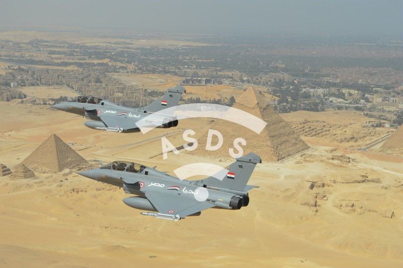Rafale of the Egyptian Air Force