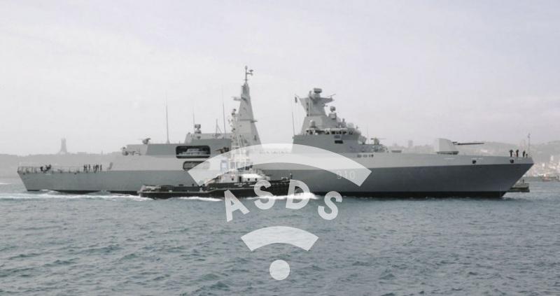 MEKO A-200 Algerian frigate