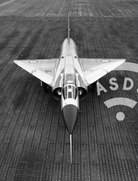 Mirage III C on the ground