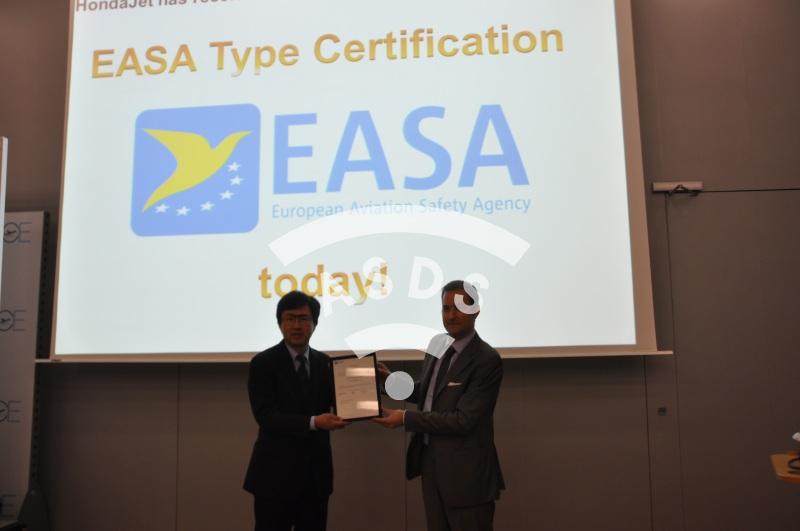 HondaJet AESA certification at EBACE 2016