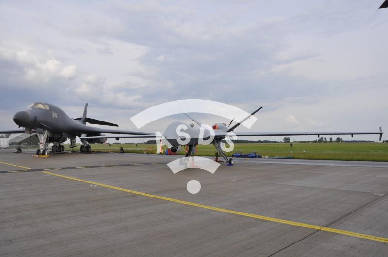MQ-9 Reaper on display at ILA 2016