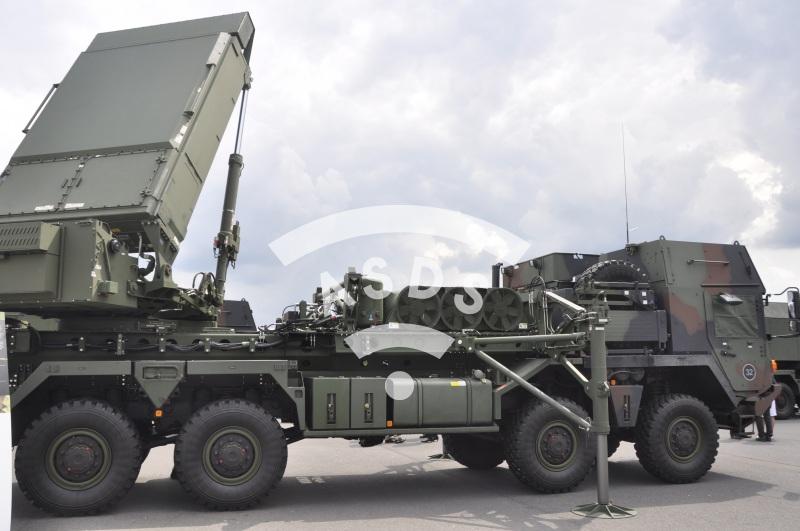 MFCR radar presented at ILA