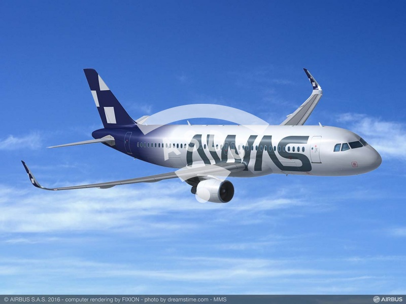 AWAS orders 15 A320