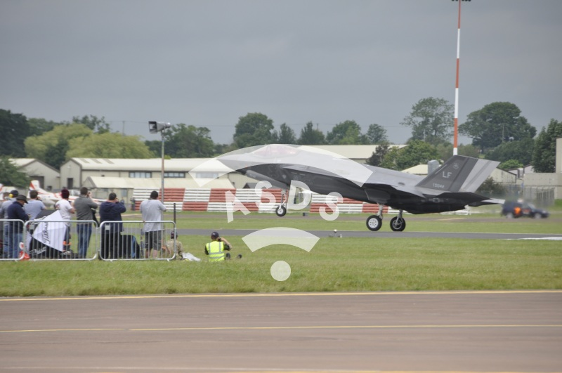 The F-35A makes its airshow debut at RIAT