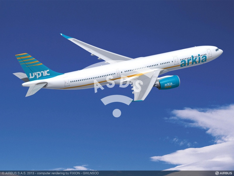 ARKIA Israeli Airlines to operate up to four A330-900neo