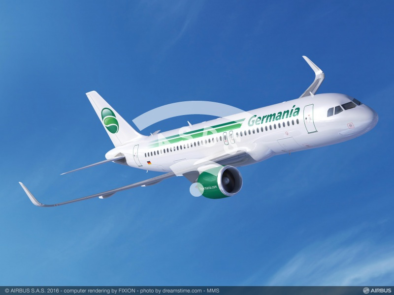 Germania Group orders 25 Airbus A320neos