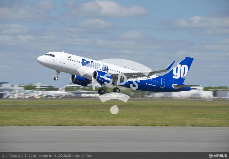 Go Air doubles A320neo order