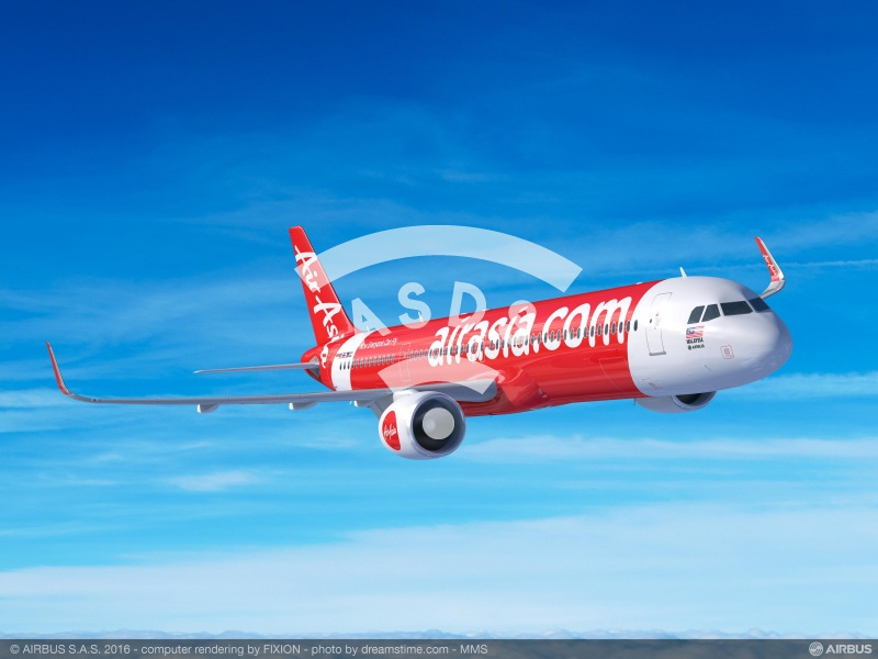 AsiaAir orders 100 A321neo