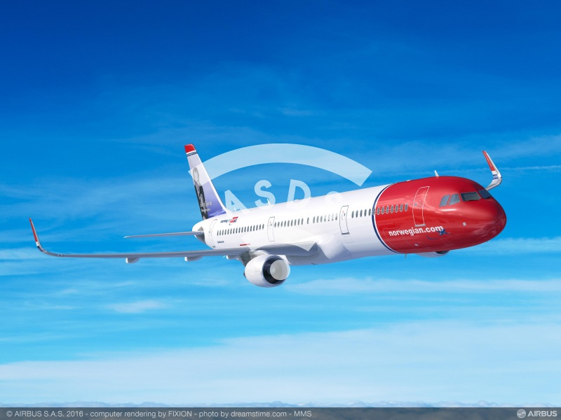 Norwegian selects 30 A321LR