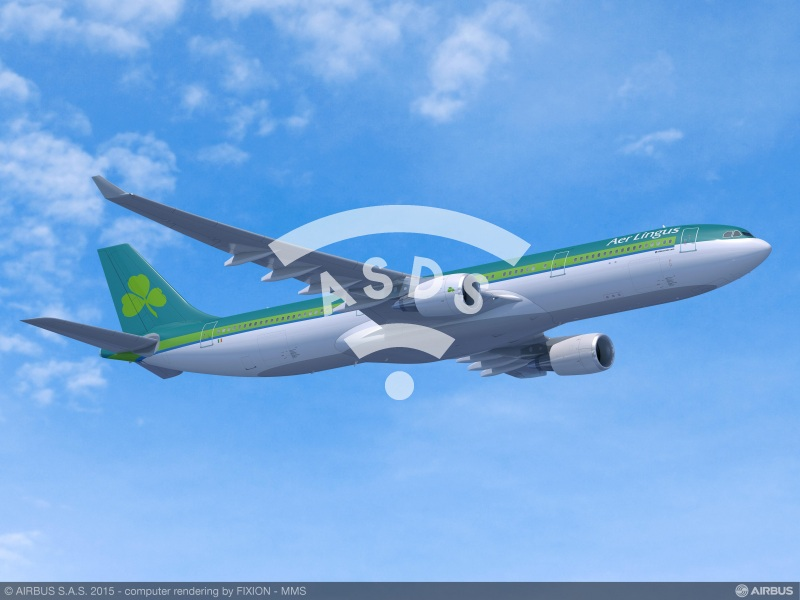 Aer Lingus adds 2 A330-300s to its future fleet