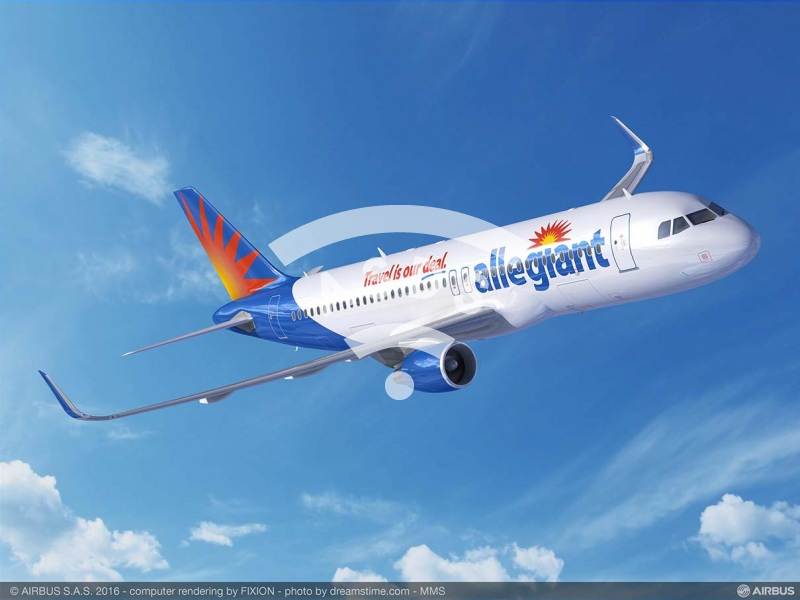 Allegiant orders A320ceo aircraft
